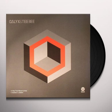 Calyx & Teebee DAY THAT NEVER COMES / SNAKES & LADDERS Vinyl Record - UK Release