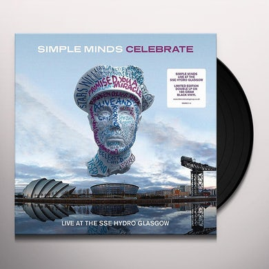 Simple Minds CELEBRATE-LIVE FROM THE SSE HYDRO GLASGOW Vinyl Record - UK Release