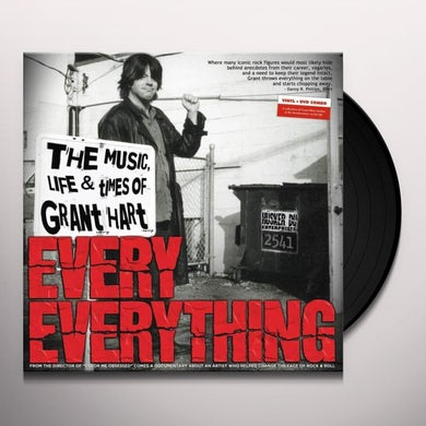 Grant Hart EVERY EVERYTHING & SOME SOMETHING (W/DVD) Vinyl Record