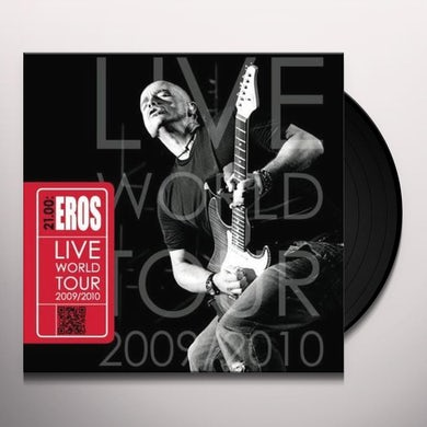 Eros Ramazzotti LIVE WORLD TOUR 2009-2010 Vinyl Record