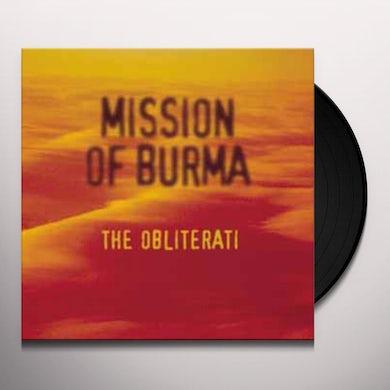Mission Of Burma OBLITERATI Vinyl Record
