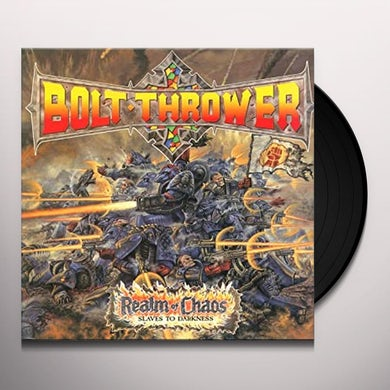 Bolt Thrower REALM OF CHAOS Vinyl Record - Holland Release