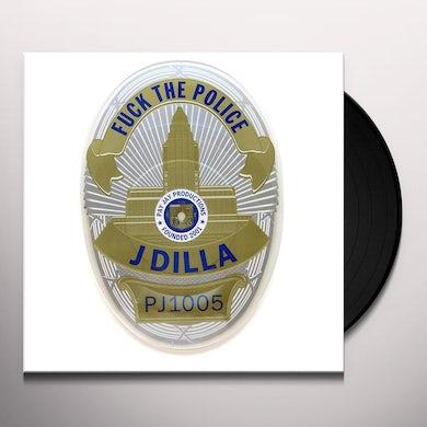 J Dilla FUCK THE POLICE: BADGE SHAPED Vinyl Record