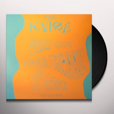 The Knife READY TO LOSE / STAY OUT HERE REMIXES Vinyl Record - UK Release