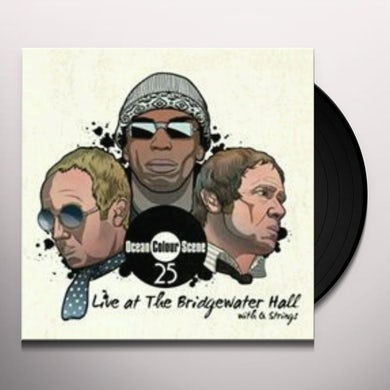 Ocean Colour Scene LIVE AT THE BRIDGEWATER HALL WITH Q STRINGS Vinyl Record - UK Release
