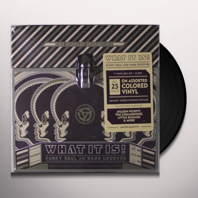 WHAT IT IS: FUNKY SOUL & RARE GROOVES: SINGLES Vinyl Record