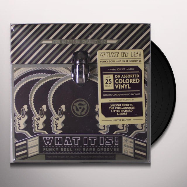 WHAT IT IS: FUNKY SOUL & RARE GROOVES: SINGLES