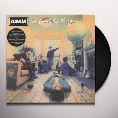 Oasis DEFINITELY MAYBE (REMASTERED) Vinyl Record - UK Release