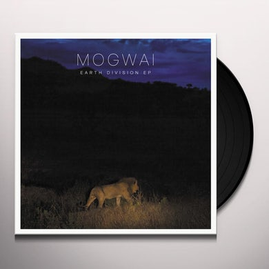 Mogwai EARTH DIVISION Vinyl Record