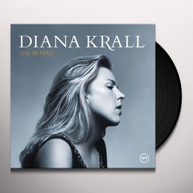 Diana Krall LIVE IN PARIS Vinyl Record - 180 Gram Pressing