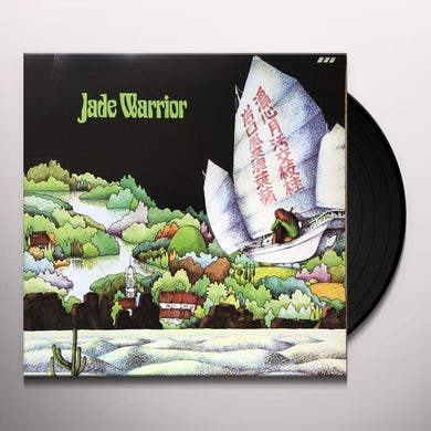 JADE WARRIOR Vinyl Record - Italy Release