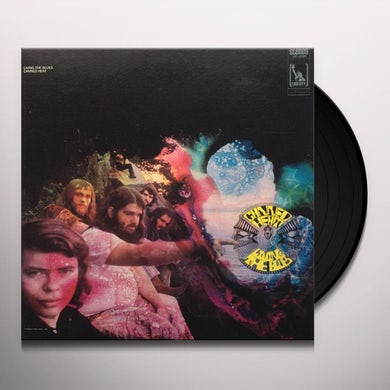 Canned Heat LIVING THE BLUES Vinyl Record - Italy Release