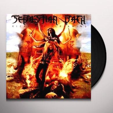Sebastian Bach KICKING & SCREAMING Vinyl Record