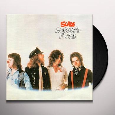 Slade NOBODY'S FOOLS Vinyl Record - Italy Release