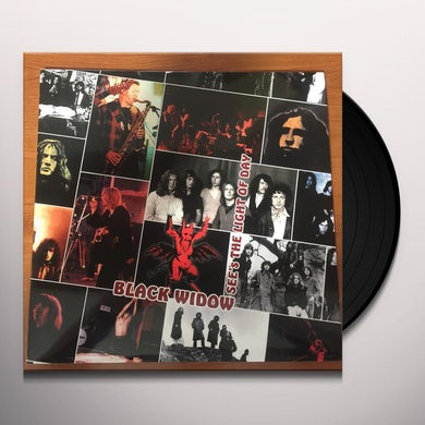 Black Widow SEE THE LIGHT OF THE DAY Vinyl Record - Italy Release