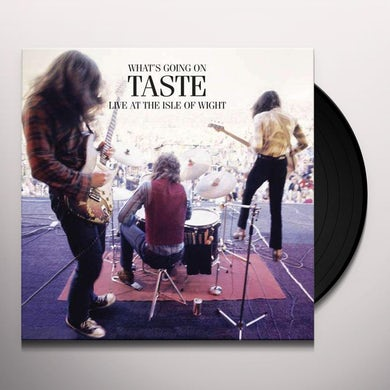 WHAT'S GOING ON TASTE LIVE AT ISLE OF WIGHT 1970 Vinyl Record