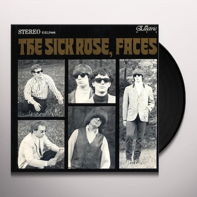 The Sick Rose MONTH OF THE ROSE Vinyl Record - Italy Release