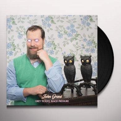 John Grant GREY TICKLES BLACK PRESSURE Vinyl Record - UK Release