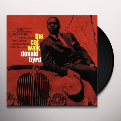 Donald Byrd CAT WALK Vinyl Record - Gatefold Sleeve, Limited Edition, 180 Gram Pressing, Remastered