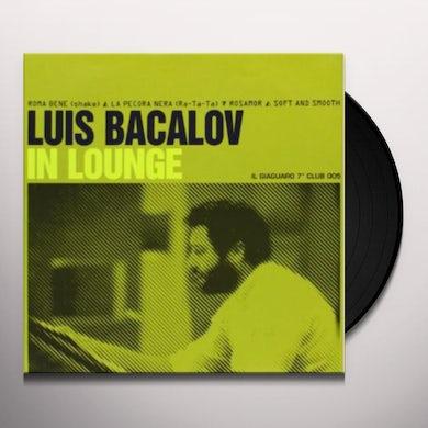 Luis Bacalov IN LOUNGE Vinyl Record