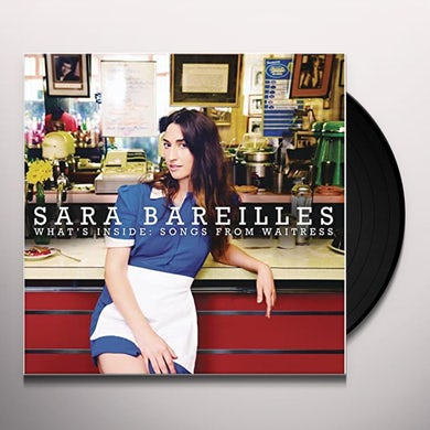 Sara Bareilles WHAT'S INSIDE: SONGS FROM WAITRESS Vinyl Record - Canada Release