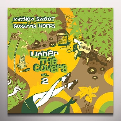 Matthew Sweet UNDER THE COVERS 2 Vinyl Record - Colored Vinyl, Yellow Vinyl, UK Release