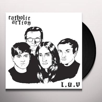 CATHOLIC ACTION L.U.V. Vinyl Record - UK Release