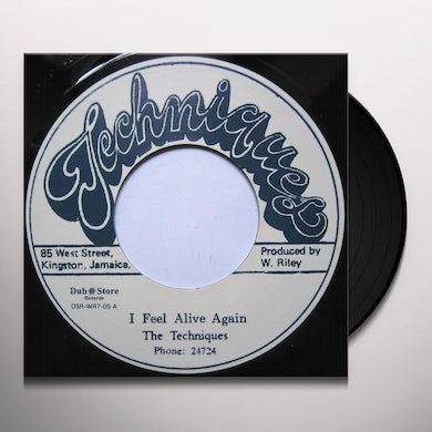 Techniques I FEEL ALIVE AGAIN Vinyl Record