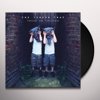Temper Trap THICK AS THIEVES Vinyl Record - UK Release