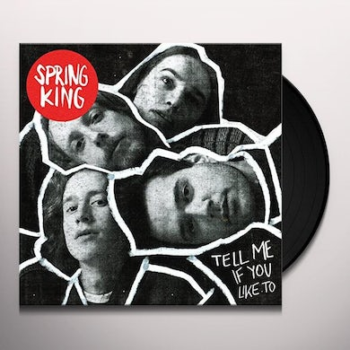 Spring King TELL ME IF YOU LIKE TO Vinyl Record - Holland Release