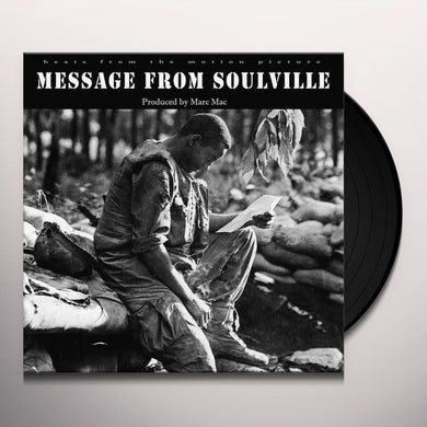 Marc Mac MESSAGE FROM SOULVILLE Vinyl Record - UK Release