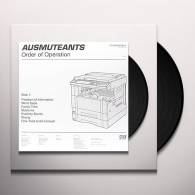 Ausmuteants ORDER OF OPERATION Vinyl Record - UK Release