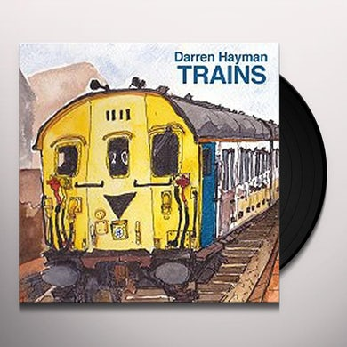 TRAIN SONGS (CLASS 108 DIESEL MULTIPLE UNIT) Vinyl Record - UK Release