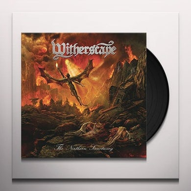 Witherscape NORTHERN SANCTUARY Vinyl Record - w/CD, Colored Vinyl, Gatefold Sleeve, Red Vinyl