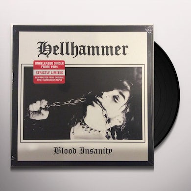 Hellhammer BLOOD INSANITY   (GER) Vinyl Record - Gatefold Sleeve, Picture Disc