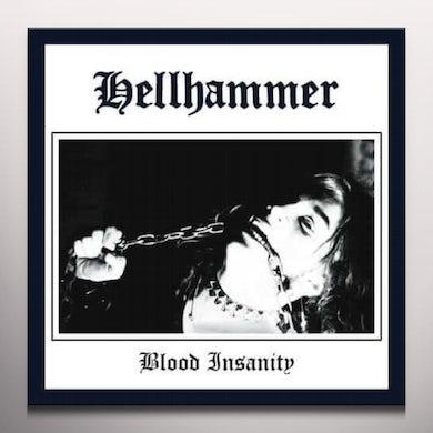 Hellhammer BLOOD INSANITY    (GER) Vinyl Record - Colored Vinyl, Gatefold Sleeve, White Vinyl