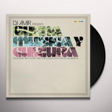 DJ AMIR PRESENTS BUENA MUSICA Y CULTURA / VARIOUS Vinyl Record