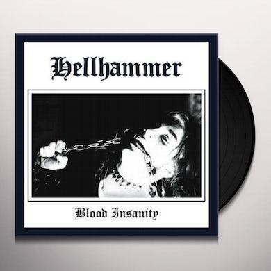 Hellhammer BLOOD INSANITY  (GER) Vinyl Record - Gatefold Sleeve