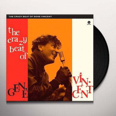 CRAZY BEAT OF GENE VINCENT Vinyl Record - Spain Release
