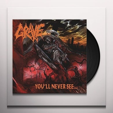 Grave YOU'LL NEVER SEE   (GER) Vinyl Record - Clear Vinyl, Reissue