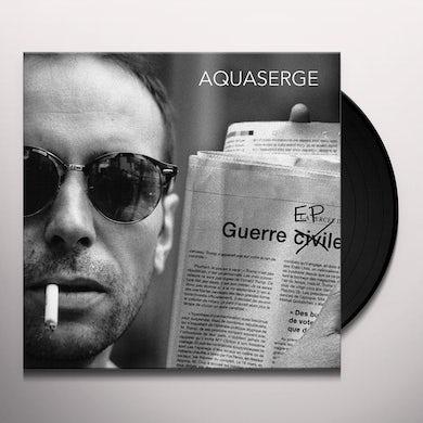 Aquaserge  GUERRE (EP) Vinyl Record - UK Release
