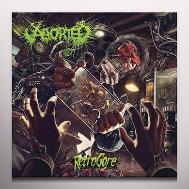 Aborted RETROGORE     (GER) Vinyl Record - w/CD, Clear Vinyl, Gatefold Sleeve, Poster