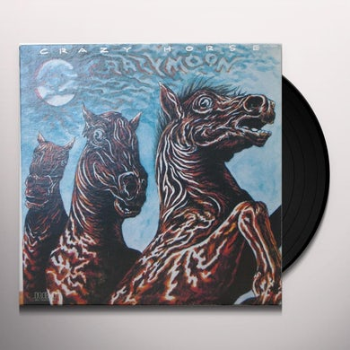 Crazy Horse CRAZY MOON Vinyl Record - UK Release
