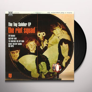 Riot Squad TOY SOLDIER (EP) Vinyl Record - UK Release
