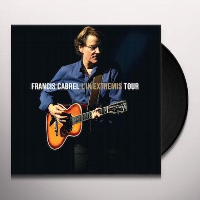 Francis Cabrel L'IN EXTREMIS TOUR Vinyl Record