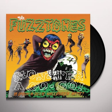 The Fuzztones MONSTER A GO GO Vinyl Record - UK Release