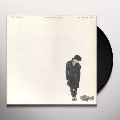 Colin Newman PROVISIONALLY ENTITLED Vinyl Record - UK Release