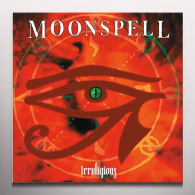Moonspell IRRELIGIOUS: ORANGE PRESSING  (W/BOOK) Vinyl Record - w/CD, Orange Vinyl