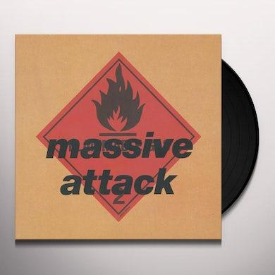 Massive Attack BLUE LINES Vinyl Record