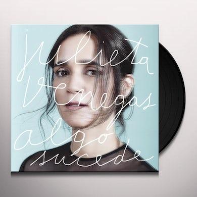 Julieta Venegas ALGO SUCEDE (GER) Vinyl Record